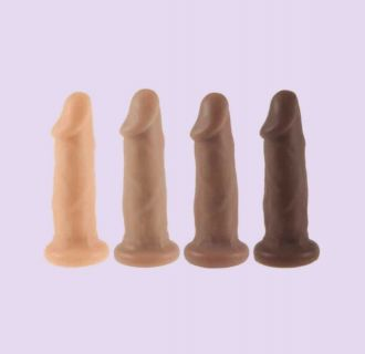 CARTER STRAP-ON DILDO SEX TOY REALISTIC PENIS SILICONE TRANSGENDER FTM
